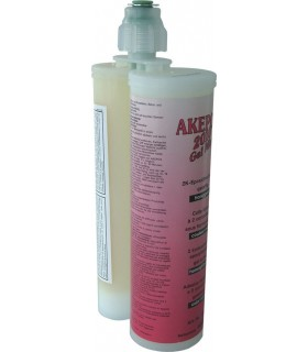 AK AKEPOX 2010 gel mix transparent miel - Cartouche 400 ml