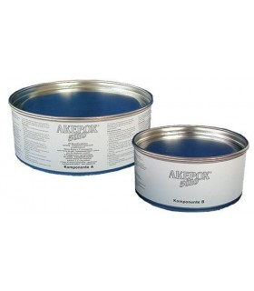 AK AKEPOX 5010 gel transparent blanc laiteux - Bte 2