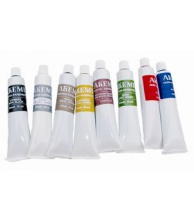 AK COLORANT EN PATE POUR MARMORKITT - OCRE - TUBE 30 ML