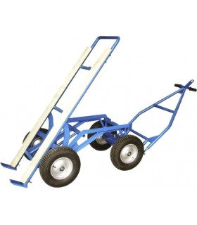 CHARIOT BASCULANT 1500KG 4 ROUES
