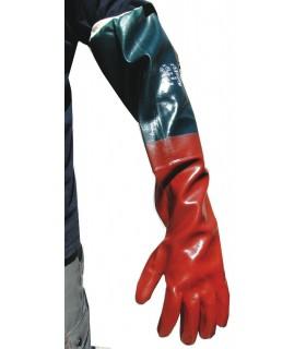 GANTS D'EXHUMATION PVC LG 70 CM - LA PAIRE - GRAND