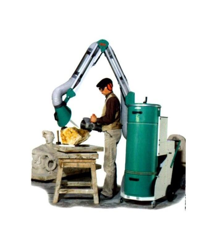 extracteur de poussi re mobile dustomat 16m 230v degami. Black Bedroom Furniture Sets. Home Design Ideas