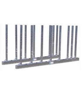 RAILS RANGMNT BISON H 150 CM LONG 3 M + 16 PIQUETS