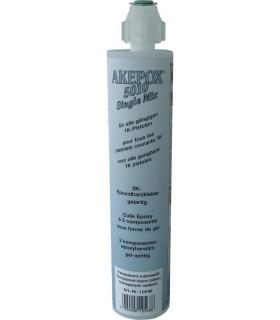 AK AKEPOX 5010 Singel mix transparent blanc laiteux - Cartouche 180 ml