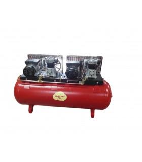 COMPRESSEUR ELEC 2x3 Cv / CUVE 300 L - TANDEM D23-300