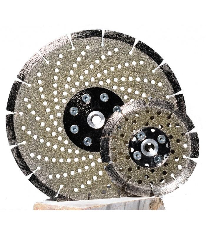Disques coupe ponce diamant lectropd pos segment s marbre et pierre degami - Disque pour couper la pierre ...
