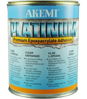 Colle AKEMI Platinum Epaisse - Transparente - Bte 900 ml