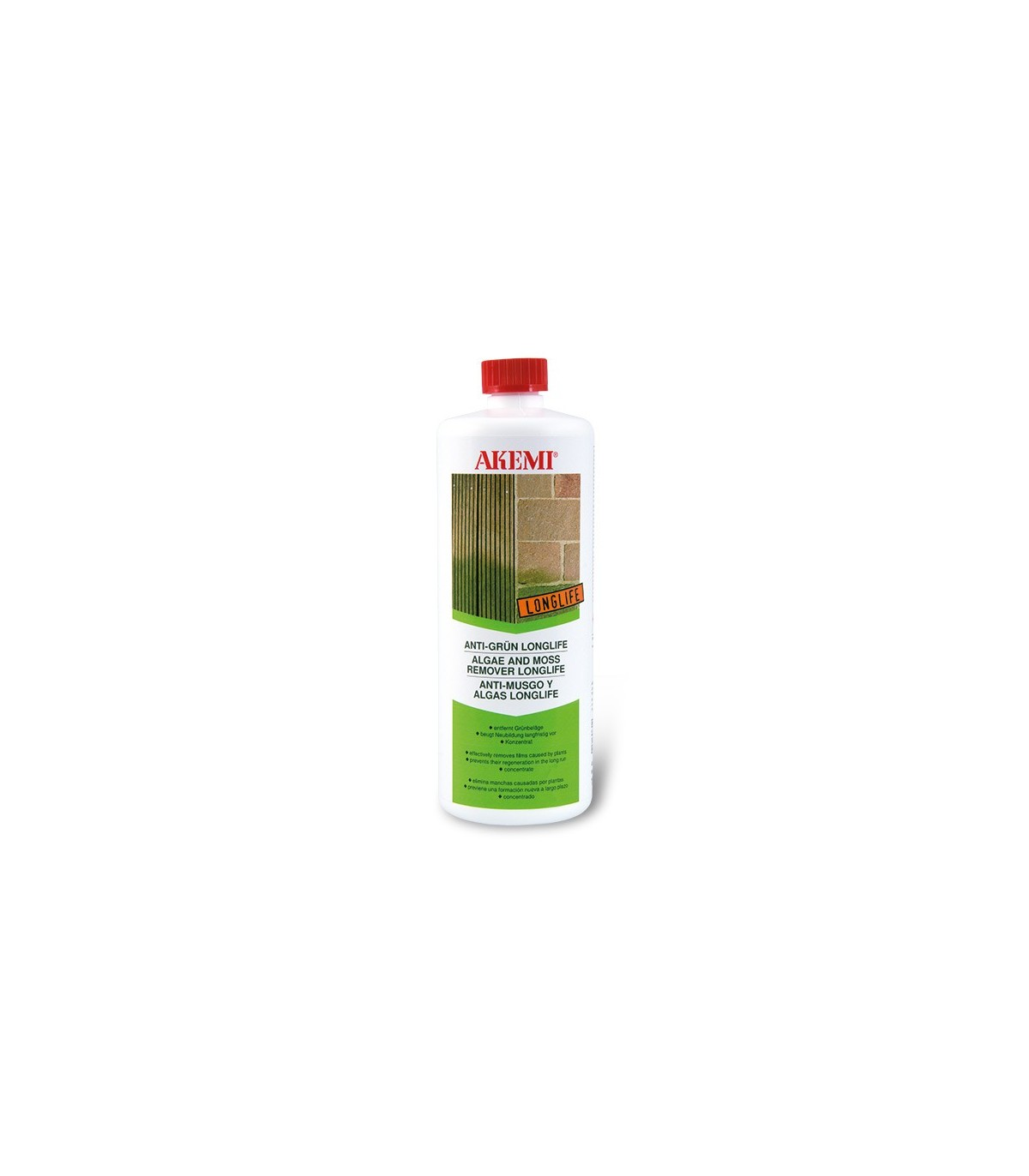 Anti Mousse Naturel Terrasse akemi anti-mousse et algues longlife