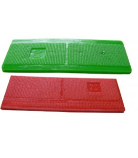 Cales plastique 20 x 80 mm