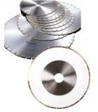 Disques diamantés pour débiteuses