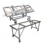 Tables et supports de travail pour atelier de marbrerie